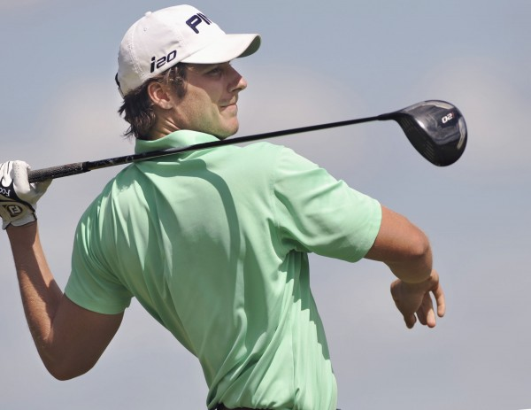 Bangor native Jesse Speirs, here competing in the 2012 Greater Bangor Open golf tournament, shot a 4-under-par 68 Wednesday in a PGA Tour second-stage qualifying tourney at TPC Craig Ranch in McKinney, Texas.