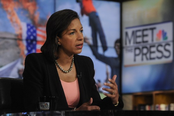 U.S. Ambassador to the United Nations, Susan Rice, appears on NBC &quotMeet the Press&quot in Washington D.C., September 16, 2012.