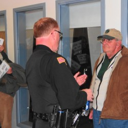 Man ejected from Searsport meeting wants to file complaint; officials explain police role
