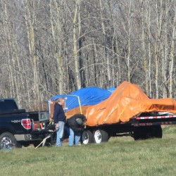 Boss says man whose truck struck plane 'a great person'