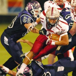 Christian Mowrer carries Orono ground game by Stearns in LTC quarterfinal