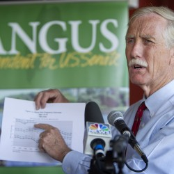Why one Bangor Democrat voted for Angus King