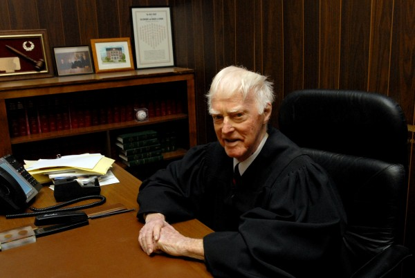 Penobscot County Judge of Probate Allan Woodcock Jr.