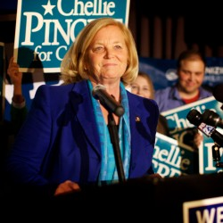 Pingree, Courtney use final campaign hours to get message out to voters