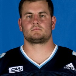 Chris Howley measures up on University of Maine offensive line