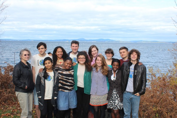 A dozen College of the Atlantic students, and Professor Doreen Stabinsky, prepare to head to Doha for the United Nations Convention on Climate Change.