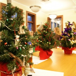 Festival of Trees Auction at Rockland Public Library