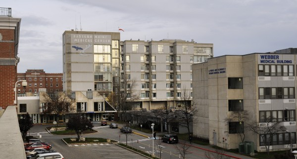 The Eastern Maine Medical Center complex in Bangor.