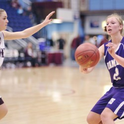 Alley 3-pointers secure Hermon girls basketball win over Lee