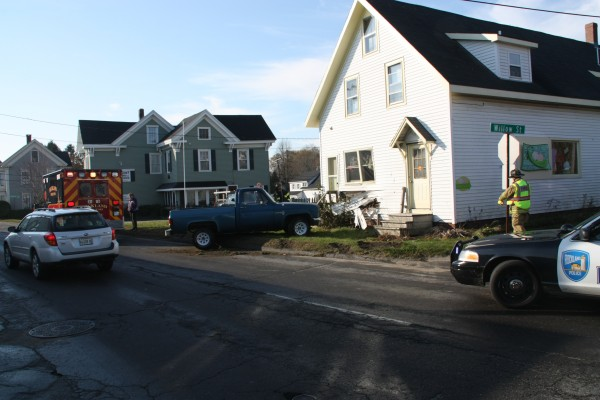 Rockland Fire Department and EMS responded to a motor vehicle accident at Union and Willow Streets at 9:20 a.m. Monday, Nov. 12.