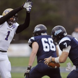 UMaine football stuns No. 6 James Madison in overtime