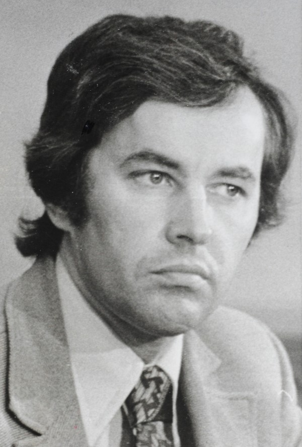 A November 1975 black and white photo of John L. Martin.