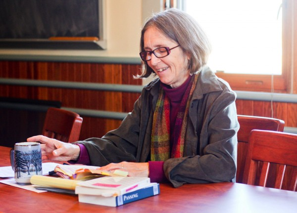 Karen Waldron, College of the Atlantic faculty member in literature and writing, is the inaugural holder of the Lisa Stewart Chair in Literature and Women's Studies.
