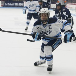 Maine hockey team snaps seven-game losing streak on freshman's goal