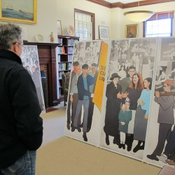 "Machias public library going ""Bananas"" in unveiling new children's mural"
