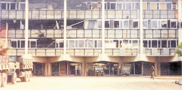 When Kevin Perry was stationed with a Marine contingent in Beirut, Lebanon in autumn 1983, the Marines lived in this headquarters near the international airport. An assignment to guard the American embassy in Beirut took Perry away from the Marine headquarters on the fateful morning of Oct. 23, 1983.