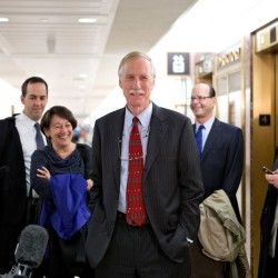 Independent senators say Angus King must choose caucus party