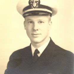"Robert M. Files was a naval gunfire liaison officer who ""spotted"" artillery fire for Army troops in southern France."