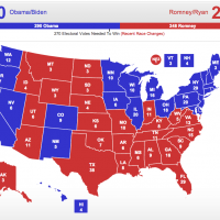 Polarized electorate suggests Obama win in 2012