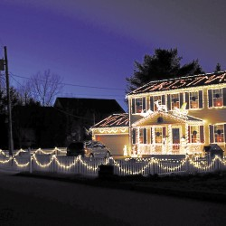 Check out Brewer's outstanding light displays this holiday season