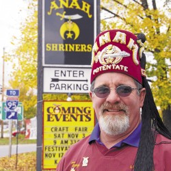 Sherman Mills man is top Anah Temple Shriner