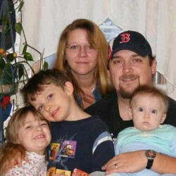 Small town reeling from death of father, three children in weekend fire