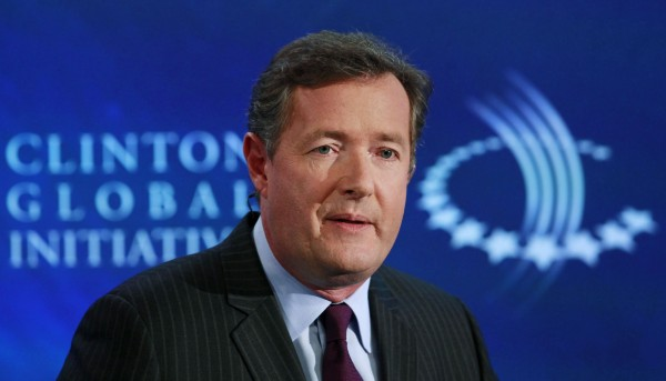Television host Piers Morgan