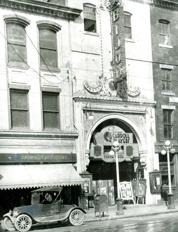 The Bijou Theater in Bangor, probably in the 1920s. The theater played host to many of the top Broadway acts of the day, including Mae West.