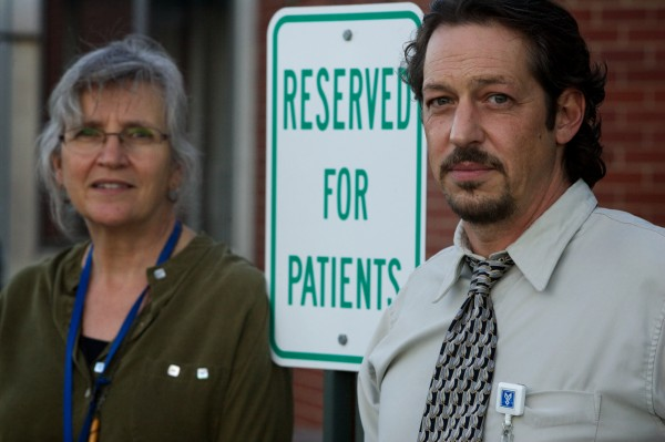 Clinical Nurse Specialist Shirley Russell and Director Eric Haram of Mid Coast Hospital's Addiction Resource Center in Brunswick help guide patients through the recovery process.