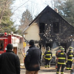 Wood stove ashes blamed for fire at former Lake home in Dexter