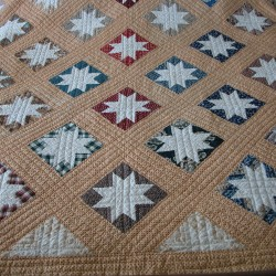 "This Signature Quilt was made in 1849 in Bucksport and was hand-pieced in a variable star pattern. It is part of the collection the Penobscot Marine Museum will display in the ""Keeping Warm"" exhibit, which opens Dec. 15."