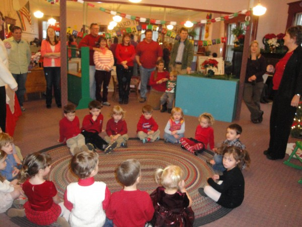 Last year's Christmas party at Highland Pre-School in Hampden. The 30th year of Highland Pre-School Christmas parties will take place next week.