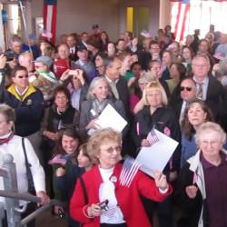 New train platforms in Freeport, Brunswick celebrated