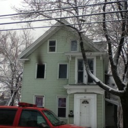 Kenduskeag Avenue home damaged by fire