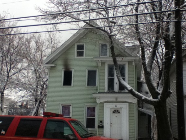 This apartment building on Third Street in Bangor was the scene of an early-morning fire on Thursday. Crews remained on scene throughout the morning investigating the incident.