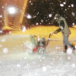 It's not even Halloween yet — Snow hits Aroostook County