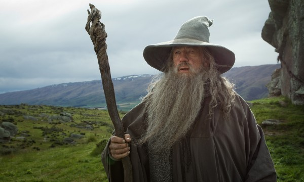 Ian McKellen as the Wizard Gandalf the Grey in the fantasy adventure, &quotThe Hobbit: An Unexpected Journey,&quot a production of New Line Cinema and Metro-Goldwyn-Mayer Pictures (MGM), released by Warner Bros. Pictures and MGM.