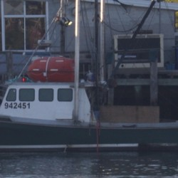 Vigil held on Stonington pier for missing fishermen on Foxy Lady II
