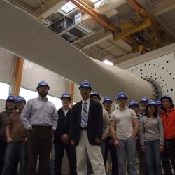 University of Maine hosts wind energy company