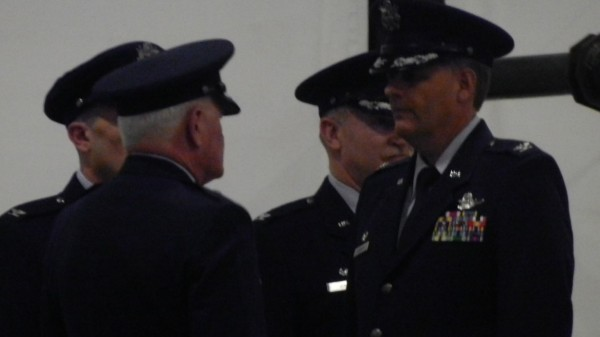Col. Douglas A. Farnham of Bangor assumes leadership of the Maine Air National Guard's 101st Air Refueling Wing during a change of command ceremony on Saturday. Farnham succeeds Col. John D'Errico, who had commanded the wing since August 2009.