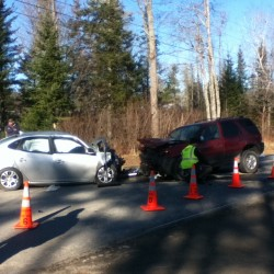 3-car collision in Winterport sends 3 to hospital