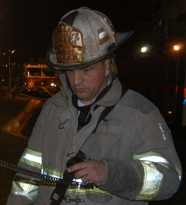 Jerome LaMoria, shown here in a picture distributed by the city of Portland on Dec. 4, 2012, has been chosen as the city's next fire chief. LaMoria most recently served as the head of training for the Prince George's County (Md.) Office of Homeland Security.