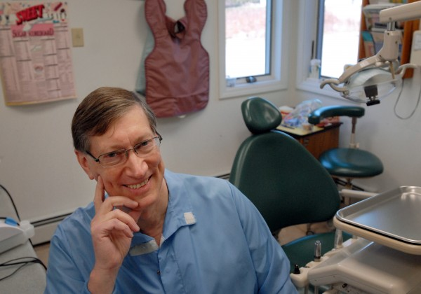 Dr. Ned Robertson, a Maine native, has practiced dentistry in Ohio for the past 29 years. Robertson has returned to his home state after accepting a job as the dentist for the Penobscot Indian Nation.