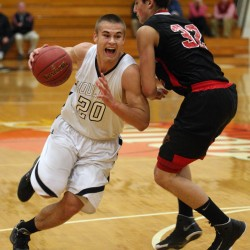 Bouchard, Houlton top Mattanawcook boys basketball team to remain unbeaten
