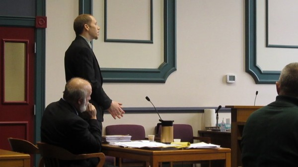 Matthew Wycoff, who pleaded guilty to Class A elevated aggravated assault earlier this year for one of the most brutal domestic violence assaults police in the area have seen in recent memory, made a statement during his sentencing hearing on Thursday, Dec. 20, 2012, in Sagadahoc County Superior Court in Bath.