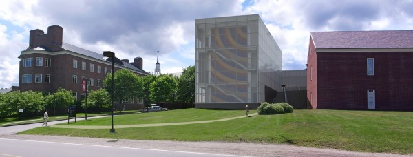 A rendering by Frederick Fisher and Partners Architects of the new Alfond-Lunder Pavilion, a massive addition to the Colby College Museum of Art in Waterville, set to open in July 2013.