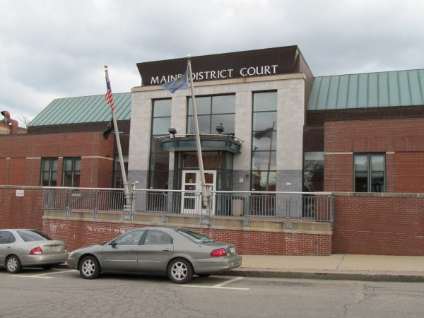 Two men charged in connection with the Kennebunk prostitution investigation pleaded guilty to engaging a prostitute in Biddeford District Court on Wednesday.