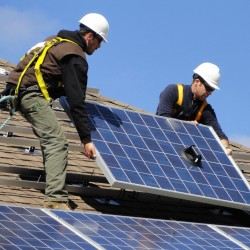 Belfast ecovillage installs 11 more solar systems
