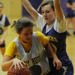 Bucksport High School girls basketball is coming off a 15-3 season where four starters graduated. Bucksport's season ended with a quaterfinal loss to Central High School.