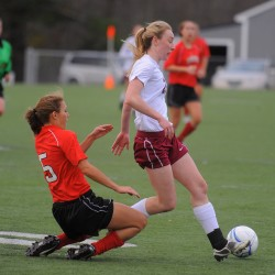 Robinson, Maclean provide strong scoring punch for Bangor girls soccer team
